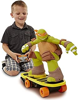 Teenage Mutant Ninja Turtles Remote Control Skateboarding Mikey Action Figure ^G#fbhre-h4 8rdsf-tg1335797