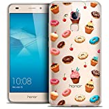 Carcasa para Huawei Honor 5C, Ultrafina Foodie Donuts