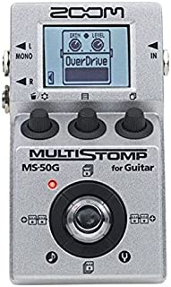 Zoom MS50G MultiStomp Guitar Pedal