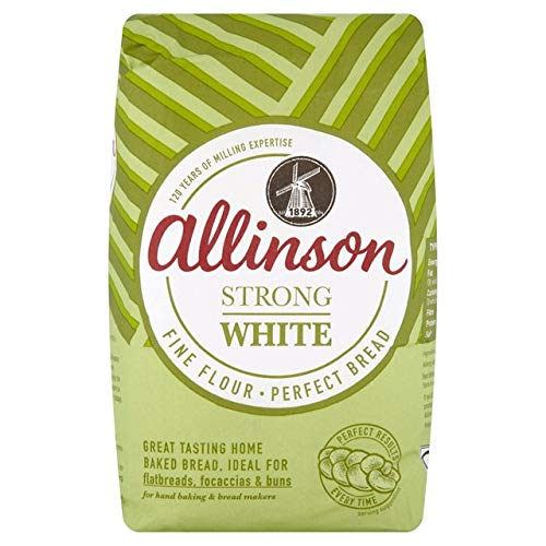 Allinson Strong White Bread Flour 1.5KG by Silver Spoon