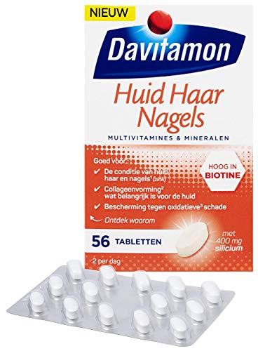 Davitamon Haar Huid Nagels - Multivitamines & Mineralen - 56 tabletten, 56 Tablet