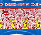 Haribo Dentaduras Caramelos de Goma - 1000 gr