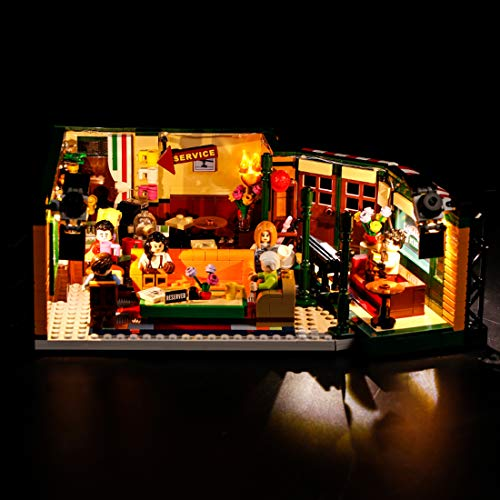 ZUJI Kit de Luces Led para Lego 21319 Friends Central Perk Ideas