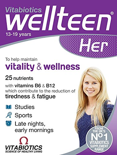 Vitabiotics Wellteen Her Original - 30 Tablets (Pack of 3)