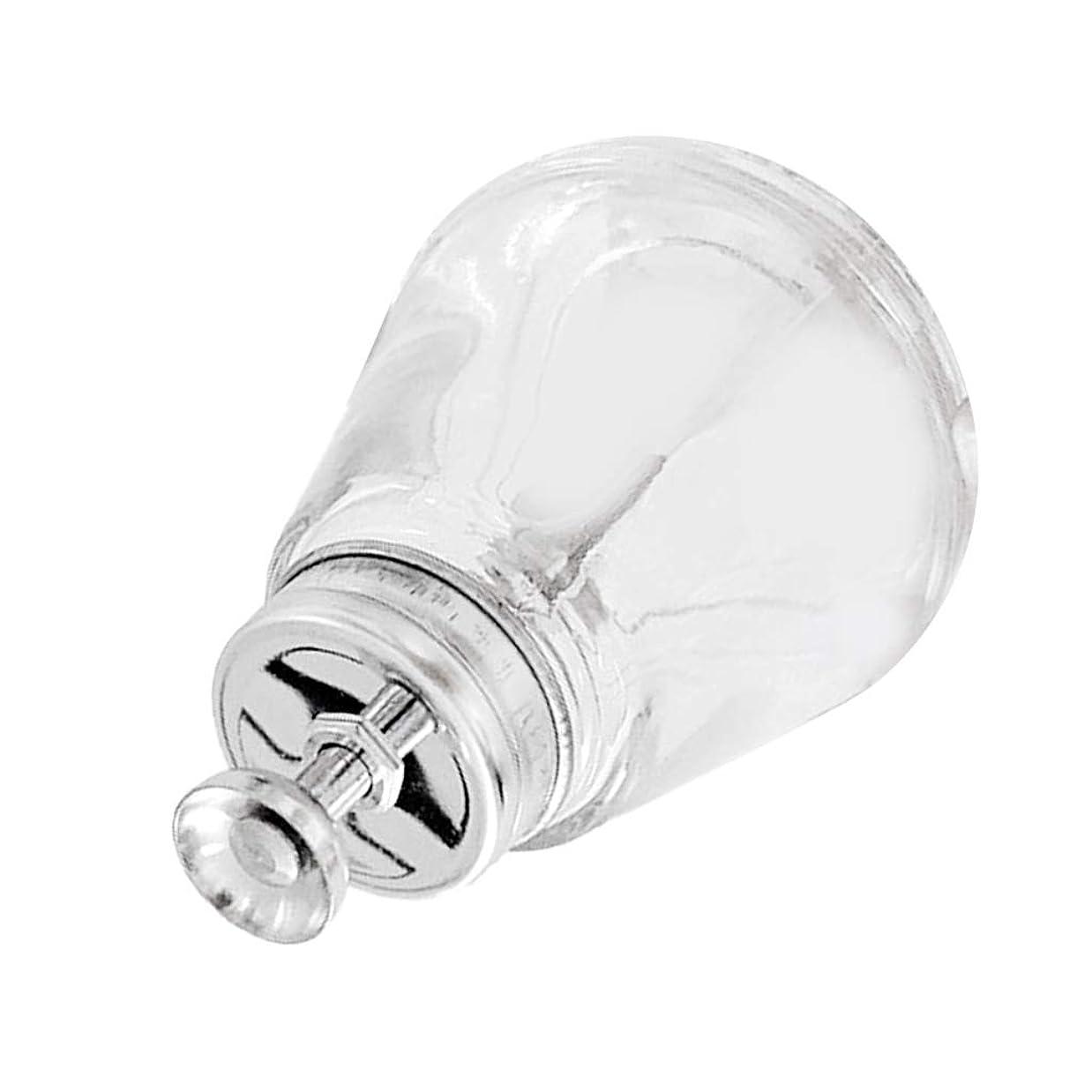T TOOYFUL ネイルアートツールボトル ガラス瓶 150mL 蓋付き マニキュアリム用 ネイルケア 空ポンプボトル