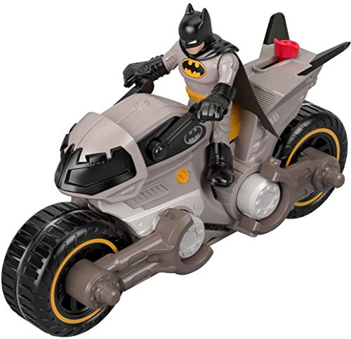 Fisher-Price Vehículo de Juguete Imaginext DC Super Friends Batman y Batimoto