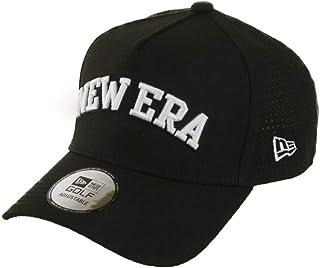 (ニューエラ) NEW ERA ゴルフ キャップ スナップバック 9FORTY A-FRAME LASER PERFORATED ブラック GOLF FREE (サイズ調整可能)