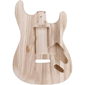 Dilwe Guitarra Electrica Unfinished Body, Madera de Arce ...