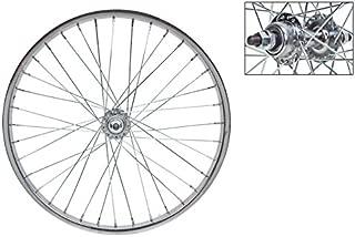 WheelMaster Rear Bicycle Wheel 20 x 1.75, 36H, Steel, Bolt On, Silver