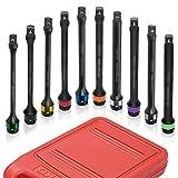 Get Neiko 02459A Torque Limiting Extension Bar, 10-Piece Set | 1/2