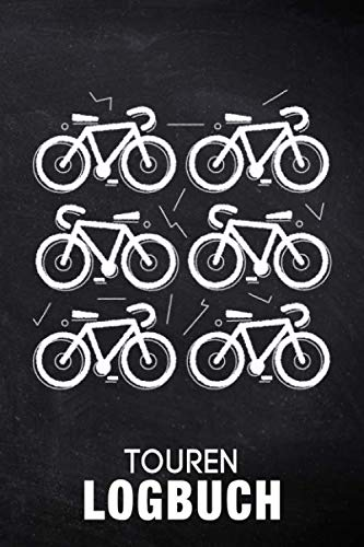 Touren Logbuch: Fahrrad Tourenbuch: Fahrradtour Radtour Tagebuch Notizbuch Für Radsportler, Radfahrer Und Fahrrad Fans deren Herz für ihr Rad schlägt. Der ideale Tourenplaner.