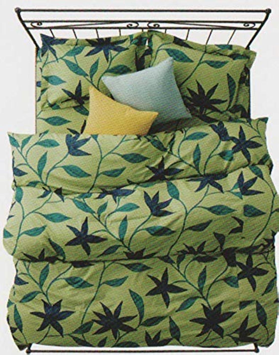 ソケット検出する申し立てるシビラ フローレス敷布団 シングル105×215cm グリーン