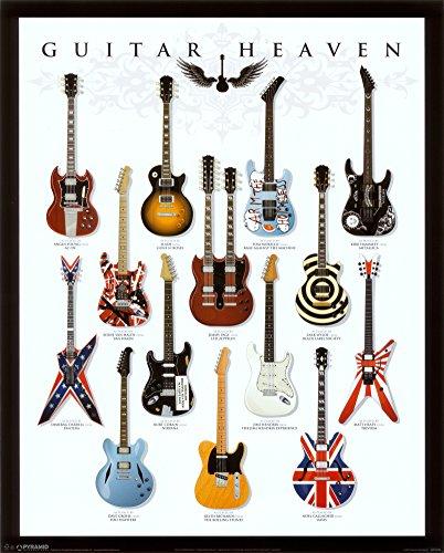 Musik Guitar Heaven Gitarren Größe 61x91,5 cm Poster Druck