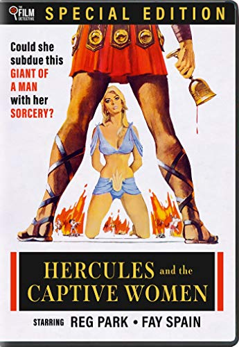Hercules And The Captive Women 1963 The Film Detective Special Edition DVD