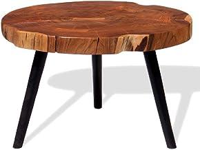 Generic Furniture Table (55-60) x40cm m Living Room Furniture Solid Acacia Wood Sol Living Room og Coffe Log Coffee a Woo ...