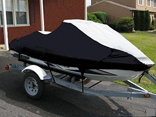 STOPBYUS Jet Ski Watercraft PWC Cover for Yamaha Wave Runner VXR 650 / WRB650P 1991 1992 1993 1994 1995 1996 2 Seater -Extremely Durable, Breathable, Travel, Mooring and Storage