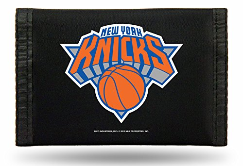 NBA New York Knicks Nylon Trifold Wallet