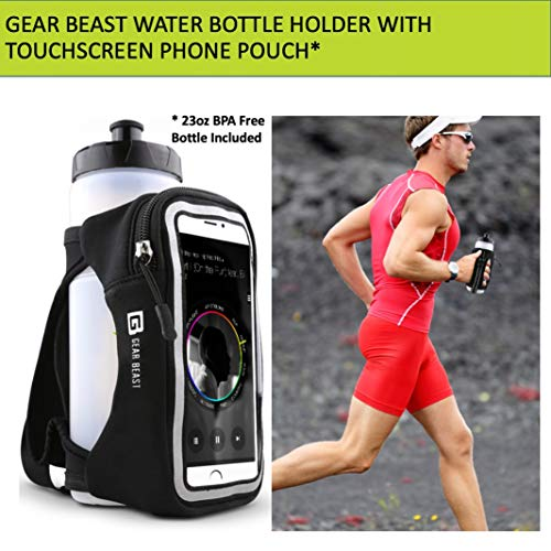 Gear Beast Handheld Running Water Bottle