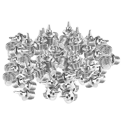Injoyo Reemplazo De Clavos De Atletismo Track Pins Cross Country 120PCs Steel