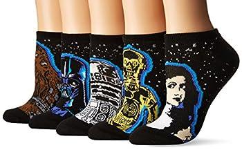 Star Wars Women s 40th Anniversary 5 Pack No Show Socks
