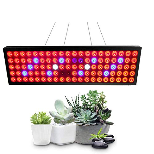 300W LED Growing Lamp with Hanging Kit, Sunlike Full Spectrum Plant Light for Seedling, Greenhouse, Hydroponic and Flowers