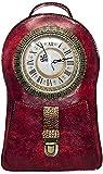 Bolsa de Reloj de Trabajo Real para Mujer, Mochila de diseño de Reloj Mochila Linda Holiday Steampunk Clock Handbags