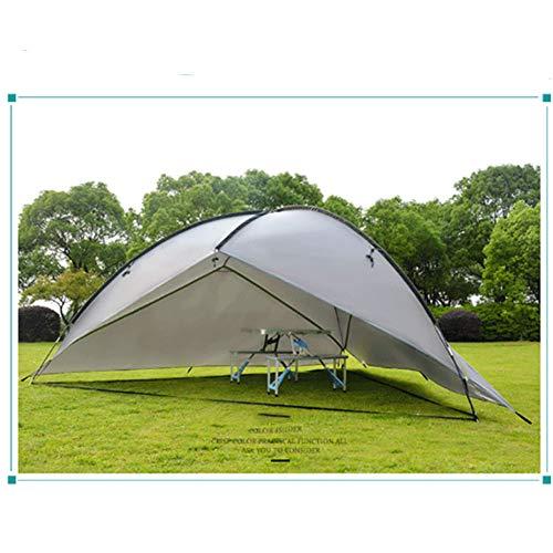 Großer Tragbar Faltbar Strandmuschel Für 4-7 Personen, Pop Up Zelt Wasserdicht, Für Strand Garten Camping Picknick Im Freien Outdoor Familie,Grau
