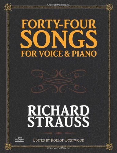 40-4 SONGS FOR VOICE & PIANO (Dover Song Collections)