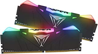 Patriot Viper Gaming RGB Series DDR4 DRAM 3600MHz 16GB - Black - RGB Color Profiles