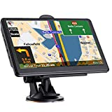 GPS Navigation for Car Truck, Latest 2021 Map Touchscreen 7 Inch 8G 256MB Navigation System with Voice Guidance and Speed Camera Warning, Lifetime Free Map Update