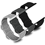 WAAILU Compatible for Apple Watch Band Series SE/6/5/4/3/2/1, 3 Pack Sport Watch Band for Women&Men, Soft Nylon for iWatch 38mm 40mm 42mm 44mm