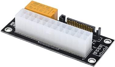 Multiple PSU Power Supply Adapter,Upgraded Version - Add2PSU ATX 24Pin to SATA Dual PSU Power Supply Sync Starter Extender Card for BTC Miner Machine (Black)