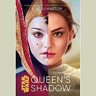 Star Wars: Queen's Shadow audiobook cover art
