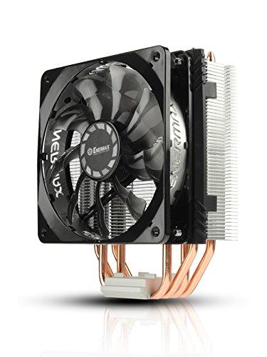 Enermax ETS-T40F-TB - Ventilador de PC (Procesador, Enfriador, Socket AM3, Socket FM2, Socket AM3+, Socket FM2+, LGA 2011-v3 (Socket R), Socket AM2, Socket AM3, 12 cm, 800 RPM, 1800 RPM)