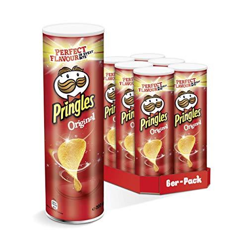 Pringles Original Chips 6er Party-Pack | 6er Party-Pack (6 x 200g)