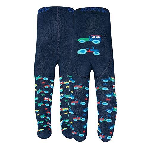 Ewers Trecker THERMO Babystrumpfhose für Jungen, MADE IN EUROPE, Innenfrottee Jungenstrumpfhose Plüsch Strumpfhose Baumwolle