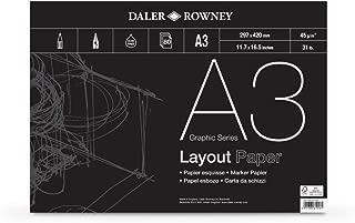 Bi-Office Bloc Papier pour Paperboard 50 feuilles par Tableau Euro Avec Perforation Blanc