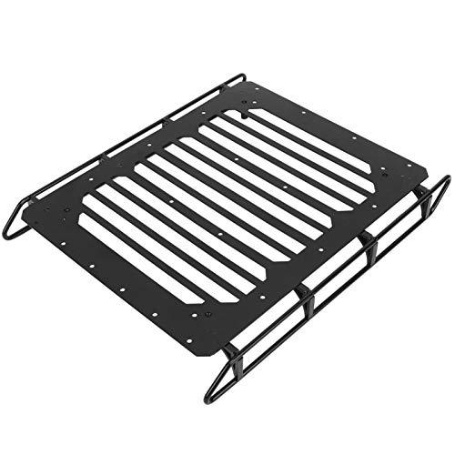 Portaequipajes de techo de metal para techo de coche RC Accesorio de actualización de coche RC para Traxxas TRX6 6X6 G63(Barra de techo)