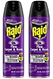 Raid Flea Killer Plus Carpet & Room Pest Extermination Spray