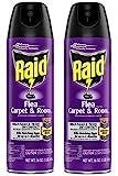 Raid Flea Killer Carpet and Room Spray (16 Ounce (Pack of 2))