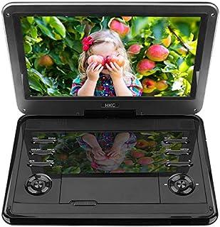 HKC D12HM 29,46 cm (11.6 Pouces) Lecteur DVD Portable, écran pivotant, Carte SD, Port..