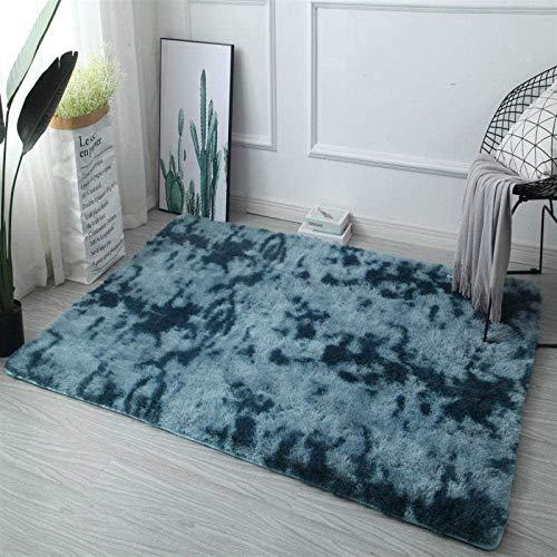 CGHBDOP Günstige Plüschteppich Große graue Krawatte Färben Teppich und Teppiche für Wohnzimmer Anti-Rutsch-Schlafzimmer Bodenmatte Kinderzimmermatten Home Decor-Rosa_80 x 160 cm