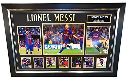 www.signedmemorabiliashop.co.uk - Foto firmada por Lionel Messi