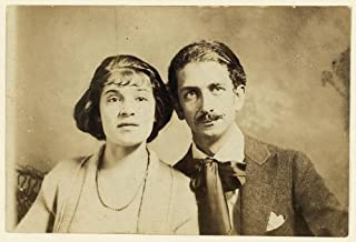 HistoricalFindings Photo: Tina Modotti,husband,Robo,Roubaix l'Abrie Richey,1921