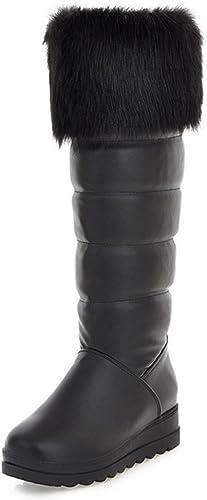 Easemax Easemax Easemax Femme Simple Talon Compensé Fermeture à Enfiler Bottes b26