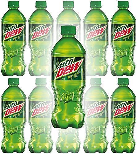 Mountain Dew, 20oz Bottle (Pack of 8, Total of 160 Fl Oz)