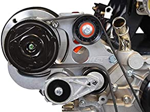 ICT Billet LS Truck R4 A/C Air Conditioner Compressor Bracket Kit SUV LSX AC (LS3 Camaro) LS1 LS3 LS2 LQ4 LQ9 LS6 L92 L99 L33 LR4 Designed & Manufactured in the USA 551585X-3