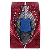 Sauna infrarroja plegable cabina de calor terapéutico Spa 1200 W – Rojo