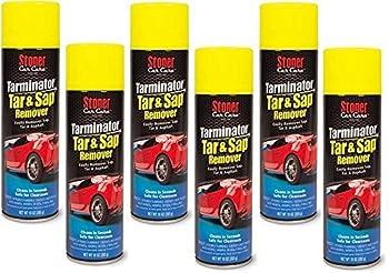 Stoner 91154-6PK Bug and Tarminator Bug/Tar/Sap/Grease Remover - 10 oz  Pack of 6