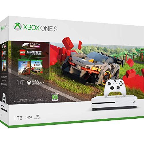 Consola Xbox One S 1TB + Forza Horizon 4 y Lego DLC – Bundle Edition